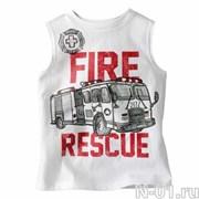 Детская пожарная майка FIRE RESCUE