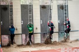 Комплект (2 штуки) тетив лестницы-штурмовки спортивной для пожарной-прикладного спорта