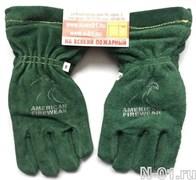Перчатки пожарные, трехслойные, AMERICAN FIREWEAR. Сертификат NFPA. Размер XS (7)