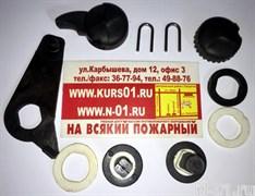Фиксаторы и подвесные оси для защитного экрана и очков на шлем Gallet F1SF