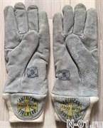 Перчатки пожарные трехслойные (США). Сертификат NFPA. Размер S (8)