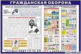 """Стенд 0202 """"Гражданская оборона"""""""