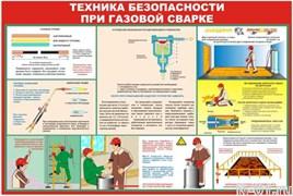 "Стенд 0602 ""Техника безопасности при газовой сварке"""