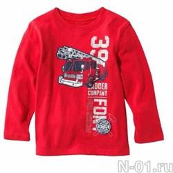 Детская футболка с длинным рукавом FIRE RESCUE - фото 4086