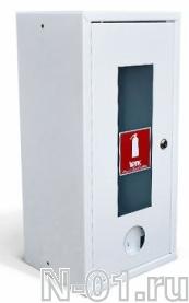 Шкаф металлический для огнетушителя 103 НОК/НОБ с окном - фото 4188