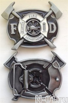 Пряжка пожарная на ремень шириной до 3,8 см - фото 4481