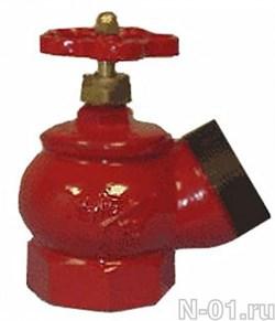 Клапан чугун угловой КПЧ-65 (муфта-цапка) - фото 5382