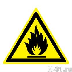 Пожароопасно. Легковоспламеняющиеся вещества  - фото 8546