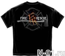 Футболка пожарная, модель 2066. Ширина по плечам 53 см