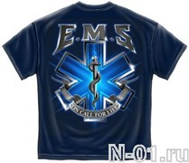 Футболка EMS парамедика. Ширина по плечам 54 см.