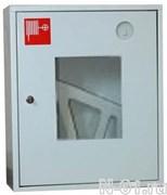 Шкаф для пожарного крана металлический 310 НОБ/НОК (белый/красный)