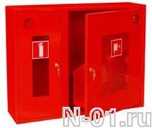 Шкаф для пожарного крана металлический 315 НОБ/НОК