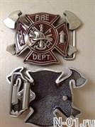Пряжка пожарная на ремень шириной до 3,8 см