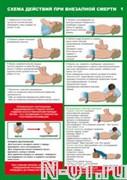 """Комплект из 6 плакатов """"Оказание первой медицинской помощи"""""""