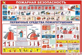 """Стенд """"Пожарная безопасность"""" в Тольятти купить"""