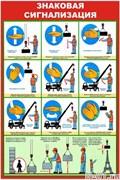 знаковая, сигнализация, крановщик, грузоподъемные, погрузочно, разгрузочные, работа, перемещение, груз, крана, строповка, складирование, подъём, перемещение, автокран, обвязка, зацепление, плакат, стенд, баннер, уголок, тольятти, цена, купить, изготовить, заказать, тольятти